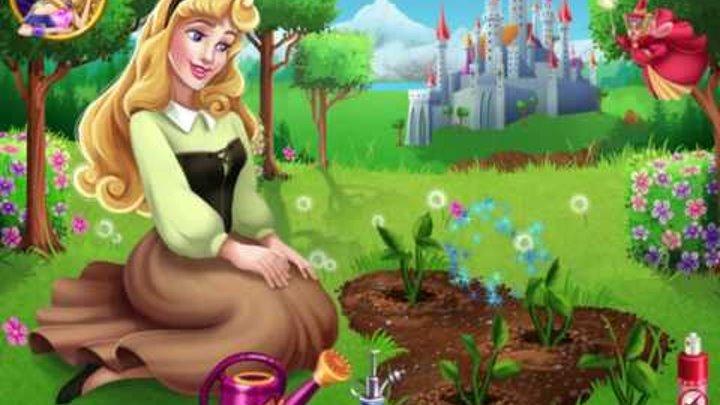 Мультик игра Аврора выращивает розы (Aurora's Rose Garden)
