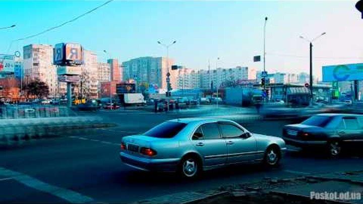 Одесса, поселок Котовского Timelapse 1080p #1