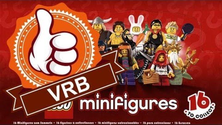 Обзор LEGO 8831, 7 серия коллекционных минифигурок.