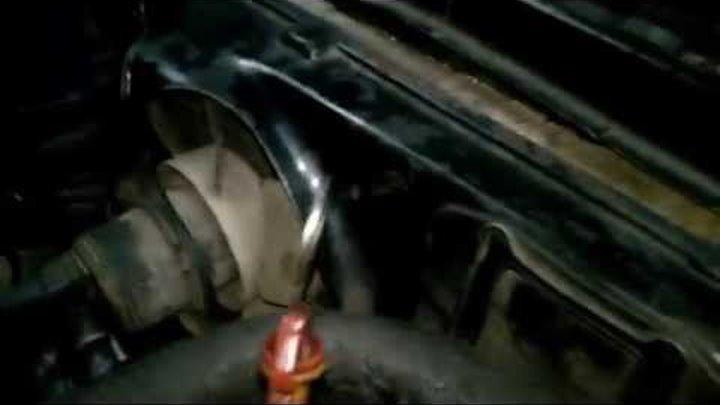 Первый запуск двигателя Volkswagen Jetta 1,6 D после кап.ремонта