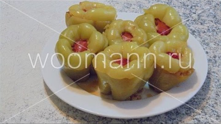 Фаршированный болгарский перец турецкая кухня