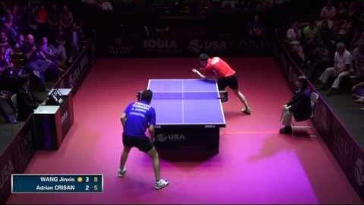 2015 US Open - Men's Singles Final - Adrian Crisan vs. Jinxin Wang