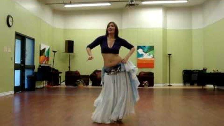 Habibi Ya Albi - Improv Belly Dance