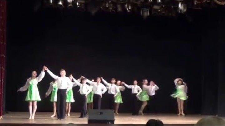 Отдел бальной хореографии Долинской ДМШ на конкурсе Паросток 2016