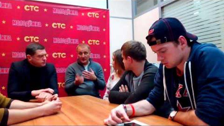 Cериал СТС «Молодежка»: встреча с главными звездами-актерами сериала(4)