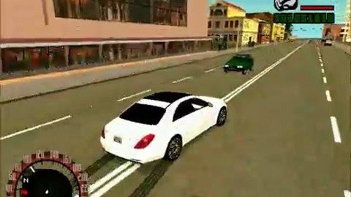 Тест - Драйв Mercedes-Benz S63 AMG W222 ( Gta )