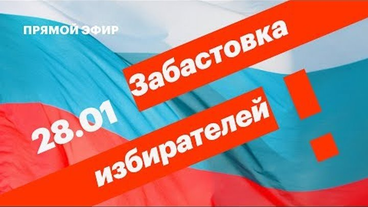 Требуем нормальных выборов. Митинги #28января по всей России. Прямой эфир