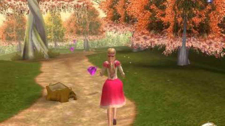 Прохождение игры Барби 12 танцующих принцесс часть 1