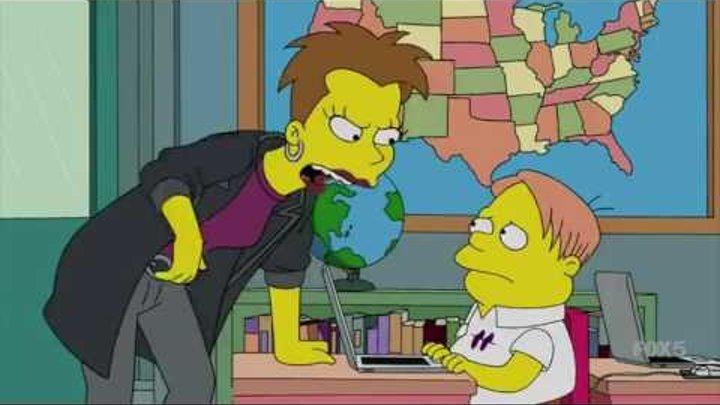 Симпсоны сезон 27 серия 10 обзор лучшее The Simpsons на русском