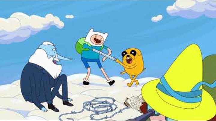 Adventure Time: Elements - Russian Intro