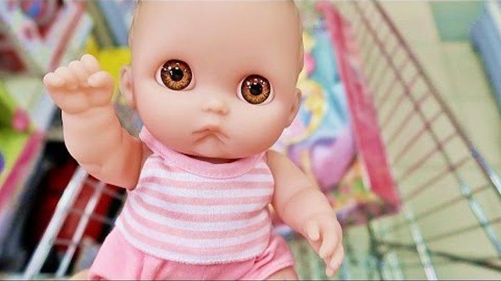 Куклы Пупсики Покупки Детский Магазин Игрушки Для Девочек Детские Товары Беби Бон Влоги Зырики ТВ