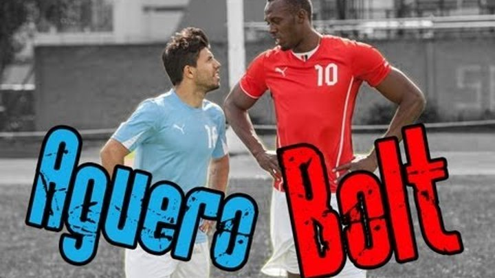 Bolt vs Agüero !!! Дерби Ман.Сити - Мaн.Юнайтед !!!
