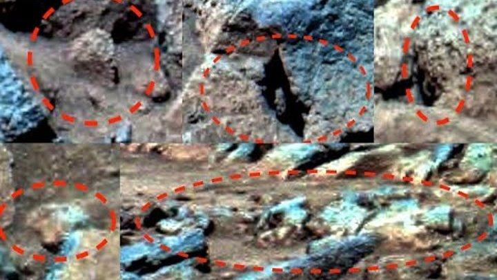 Alien Faces and Technology On Mars In NASA Spirit Photo, Oct 1, 2018, UFO Sighting News.