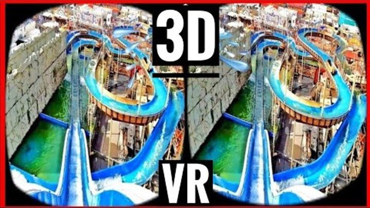 VR Videos 3D VR Roller Coaster 3D SBS [Google Cardboard VR Box 3D 360 VR] Virtual Reality 3D 4K