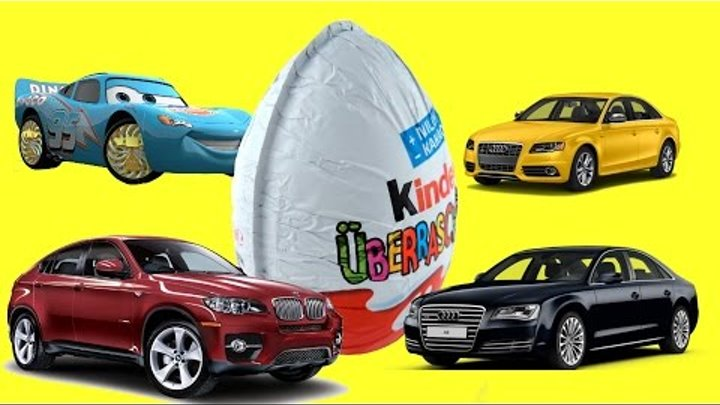 Cars Kinder Surprise Eggs Mini modelle disney-pixar toy story Киндер сюрпризы ТАЧКИ