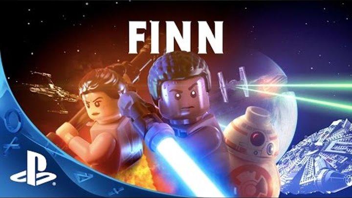 LEGO Star Wars: The Force Awakens - Finn Character Spotlight Trailer | PS4, PS3, PS Vita