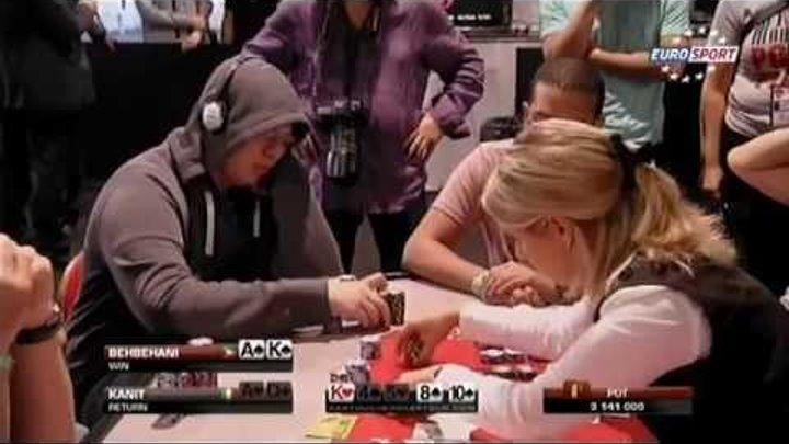 """Partouche Poker Tour 4 ep. 2 (russian comment """"EuroSport"""")"""