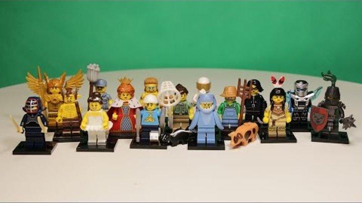 Lego Minifigures Series 15 / Лего Минифигурки 15 серии.