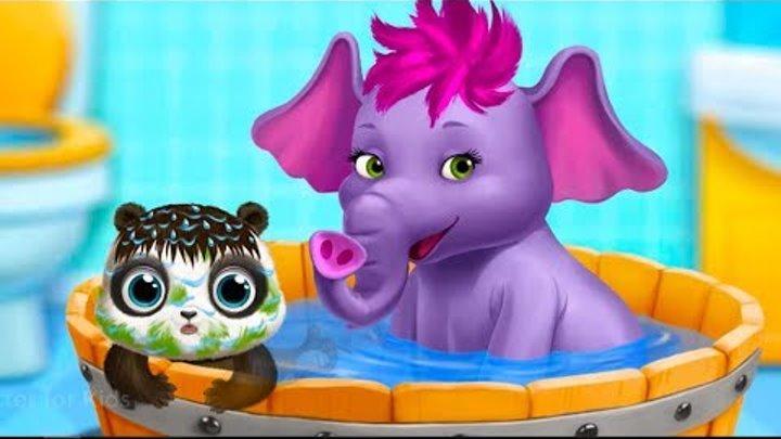Fun Cute Animals Care Kids Game - Panda Lu Baby Bear Care 2 – Babysitting and Daycare