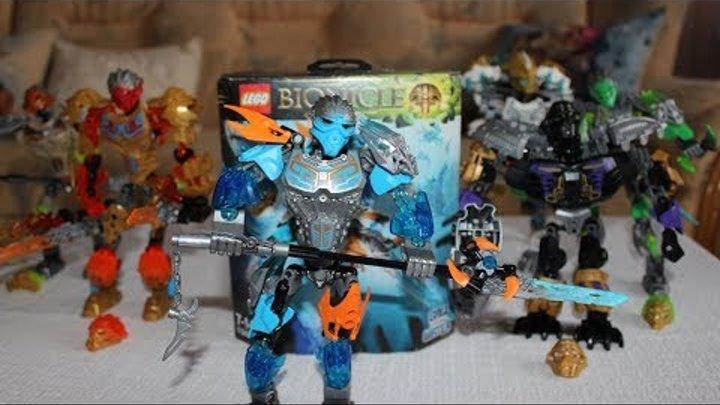 Лего бионикл против зла. Распаковка бионикла Гали 71302 - повелительница воды.
