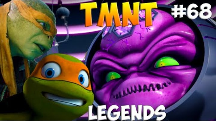 Черепашки-Ниндзя: Легенды. Прохождение #68 2 Mikey vs FINAL BOSS (TMNT Legends IOS Gameplay 2016