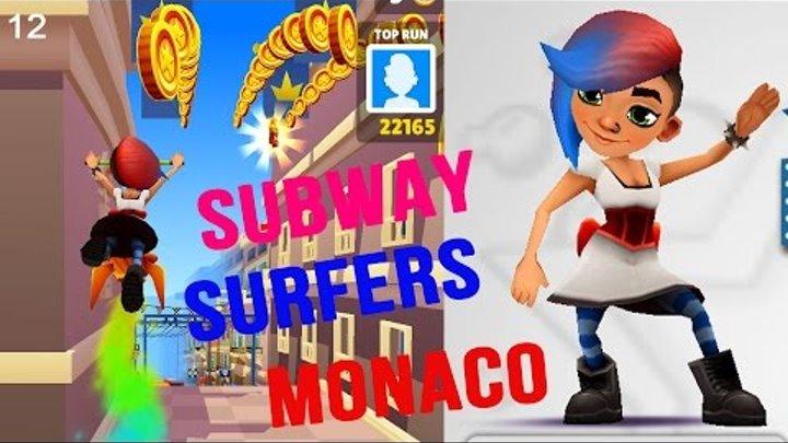 Прикольные мультики для детей Subway Surfers #012 Максим играет в Детские игры новые видео для детей