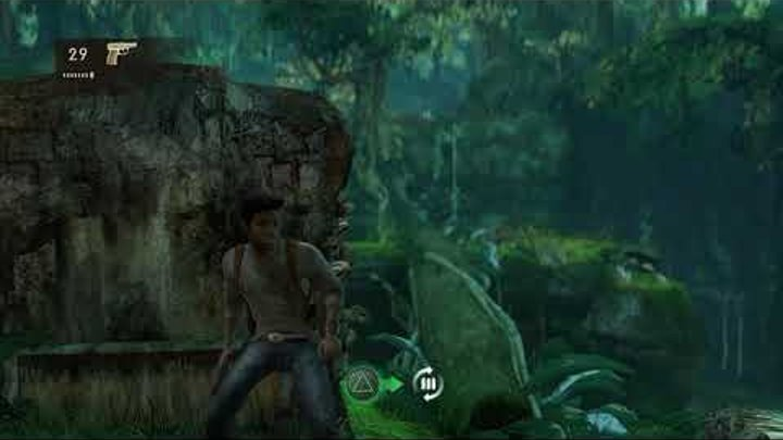 RPCS3 0.0.5 4k IR | Uncharted Demo Gameplay