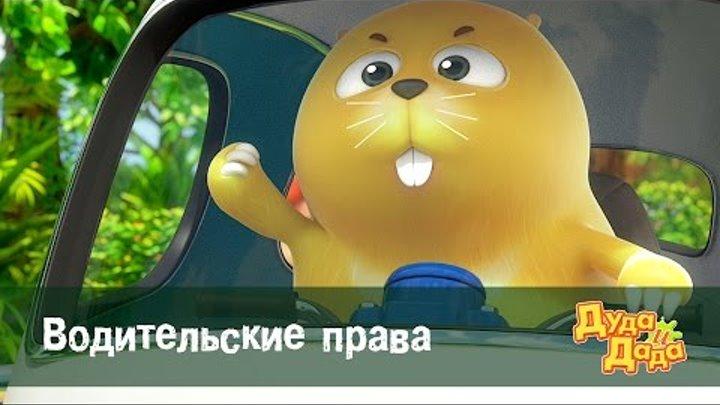 Дуда и Дада - мультфильм про машинки для детей - Водительские права – Серия 51