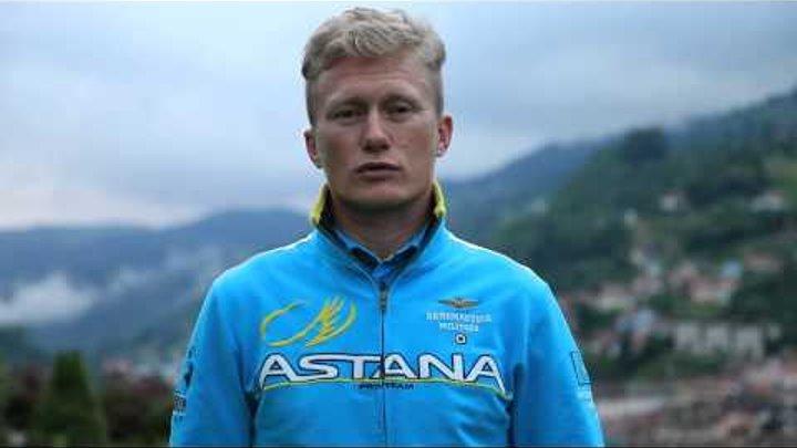 Astana Pro Team. Le tour de France 2014. Alexsander Vinokurov about stage 8