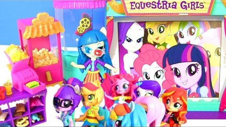 My Little Pony Equestria Girls Май Литл Пони Мультик MOVIE THEATER JUNIPER Девушки Эквестрии Игрушки