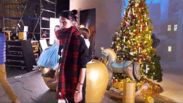 "Дима Билан на съемках клипа для шоу на льду ""Щелкунчик"""