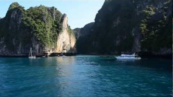 Майя бэй, Пхи-Пхи лей, где снимали фильм пляж   Maya bay, Phi-Phi