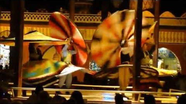танец дервишей, 1000 и 1 ночь, Египет, Шарм-Эль-Шейх.wmv