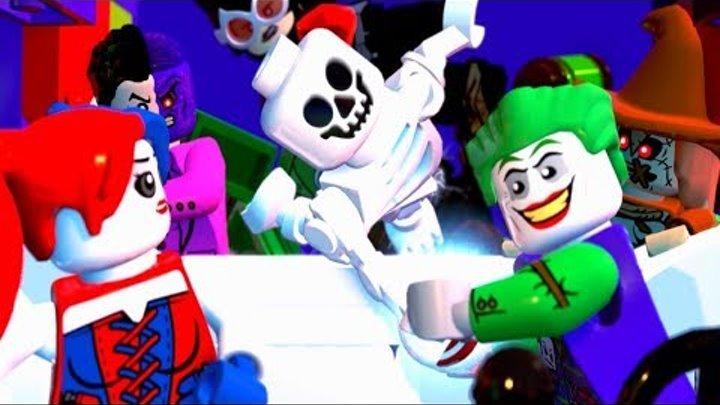 LEGO DC Суперзлодеи на русском языке прохождение - Часть 4 - НАЛЕТ НА ПОЛИЦЕЙСКИЙ УЧАСТОК