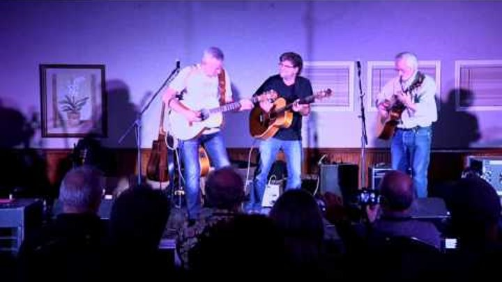 C-Jam Blues w/ Pat Bergeson & Jim Nichols from Cambria Guitar Camp USA 2015  | Tommy Emmanuel