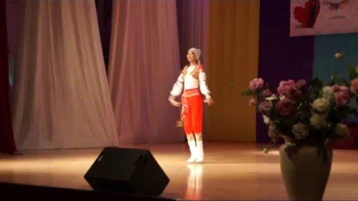 "Ким ми Сун Анастасия. Дабка. Фестиваль ""Эклектика"" 1 место"
