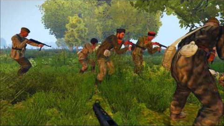 [ARMA 3 Iron Front]В тылу врага.Пластуны