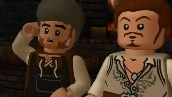 Лего Пираты Карибского Моря №1 часть 1