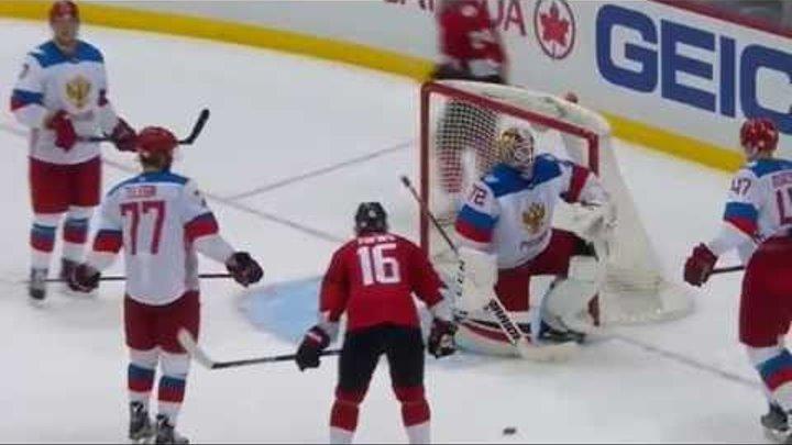 Канада-Россия 3:2(от) 14.09.16 Хоккей. Обзор матча и голы