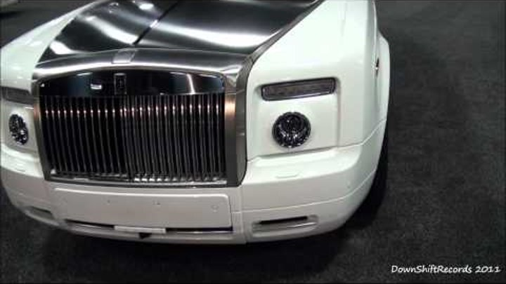 2011 Rolls Royce Ghost, Phantom Drophead Coupe, '11 Bentley Mulsanne & Flying Spur