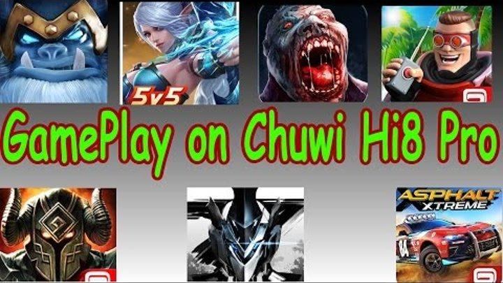7 GamePlay on Chuwi Hi8 Pro. Презентация геймплея семи игр. Part 2.