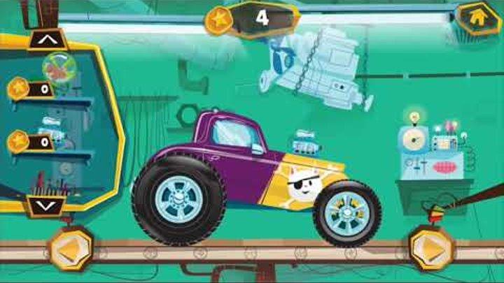 Машинки Джипы Монстр Траки Видео для Детей про Гоночные Машины 1