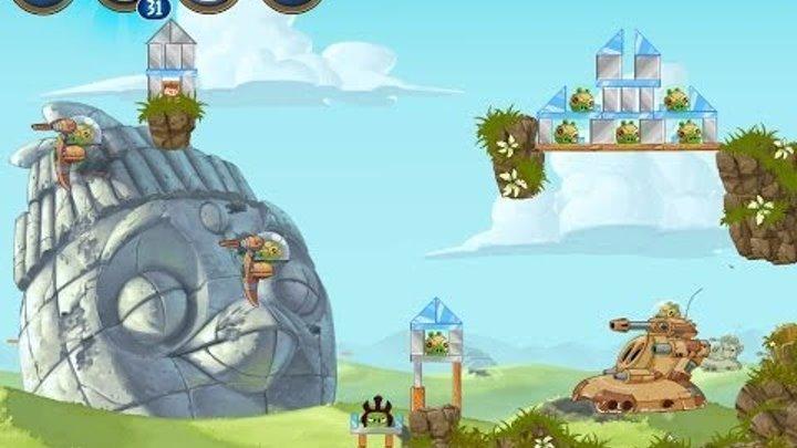 Angry Birds Star Wars 2 Level B3-19 Battle of Naboo 3-Star Walkthrough