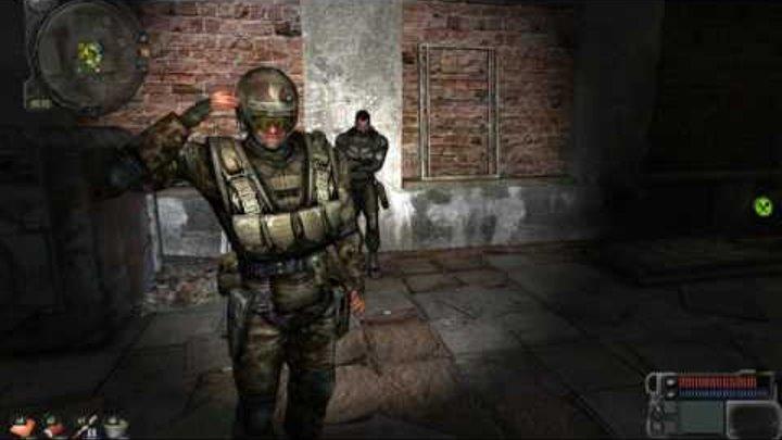 Сталкер Зов Припяти. Как быстро попасть в Припять в Начале игры,и раздобыть целую гаус пушку.