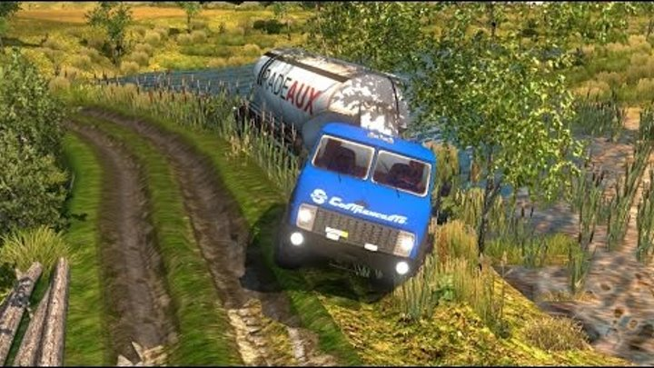 Быдло-Игроки в Euro Truck Simulator 2 Multiplayerx