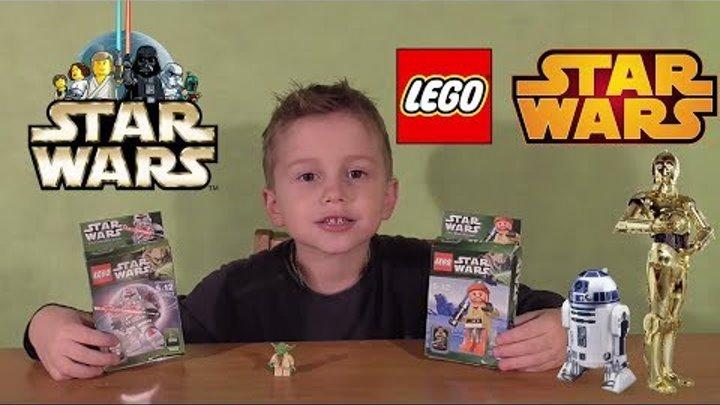 Лего Звездные Войны Оби-Ван Кеноби и Командор Кой Распаковка Обзор Lego Star Wars Unpacking Overview