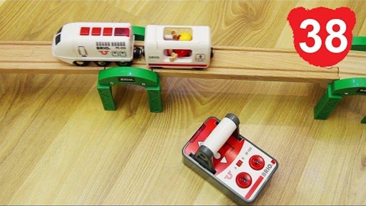 Эпизод 38 : Деревянные игрушки brio RC Travel Train 33510 железная дорога игра брио томас