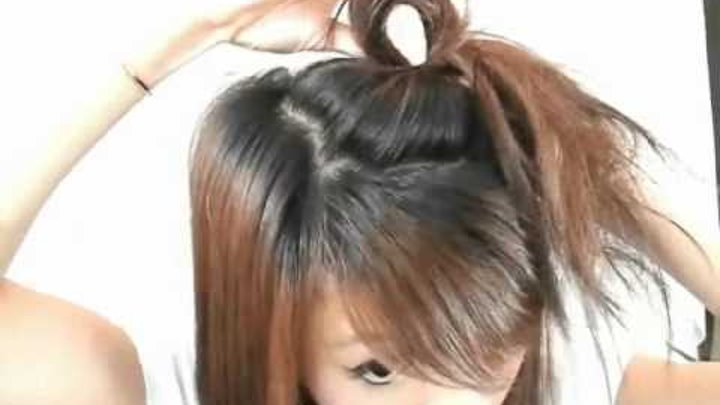 Mini Hair Bow LIke Lady Ga Ga in her Poker Face Video