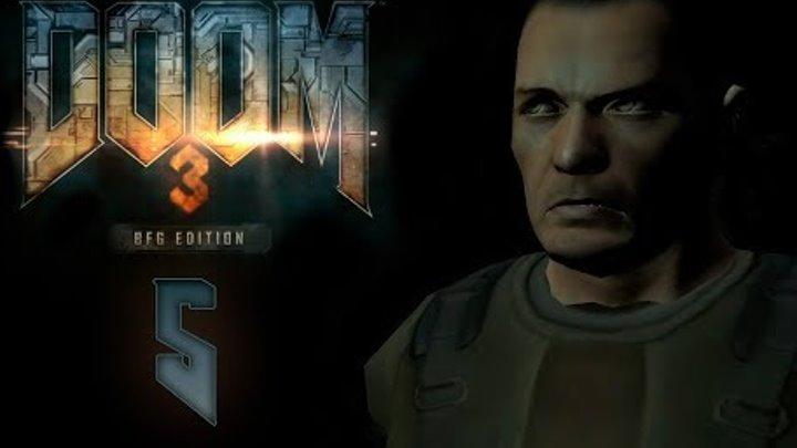 Doom 3 BFG Edition - Прохождение игры на русском - Лаборатория Альфа сектор 1 [#5] | PC
