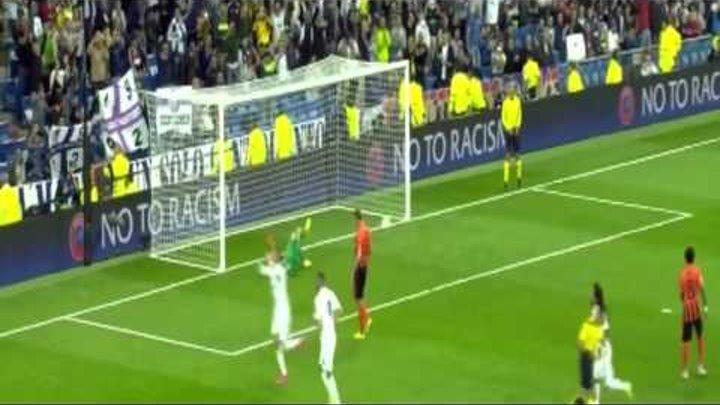 Гол Криштиану Роналду Реал Мадрид vs Шахтёр 4 0 Лига Чемпионов 2015 16